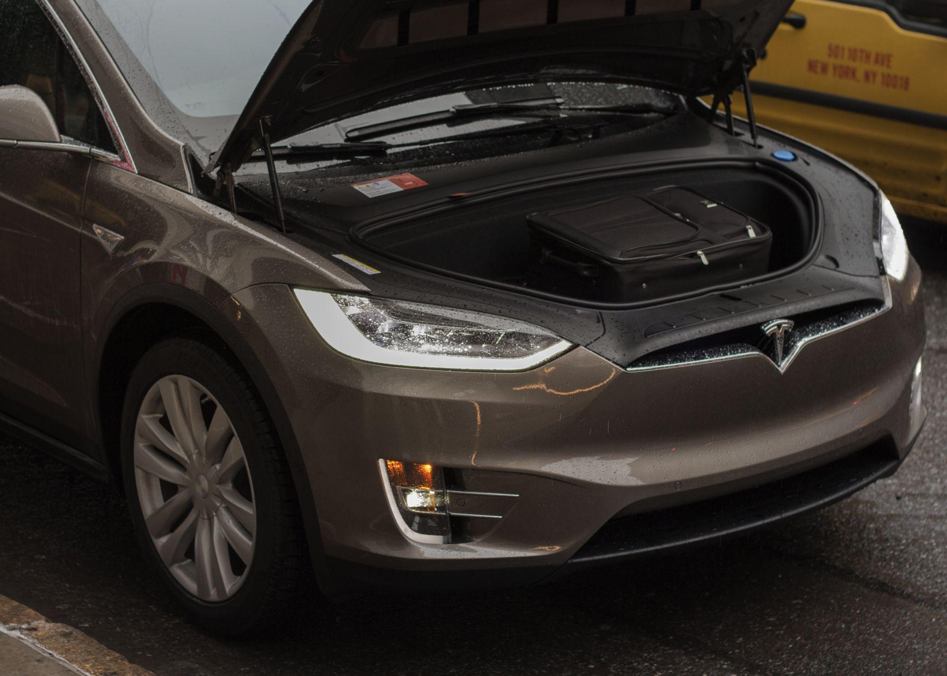 Tesla Model X Frunk