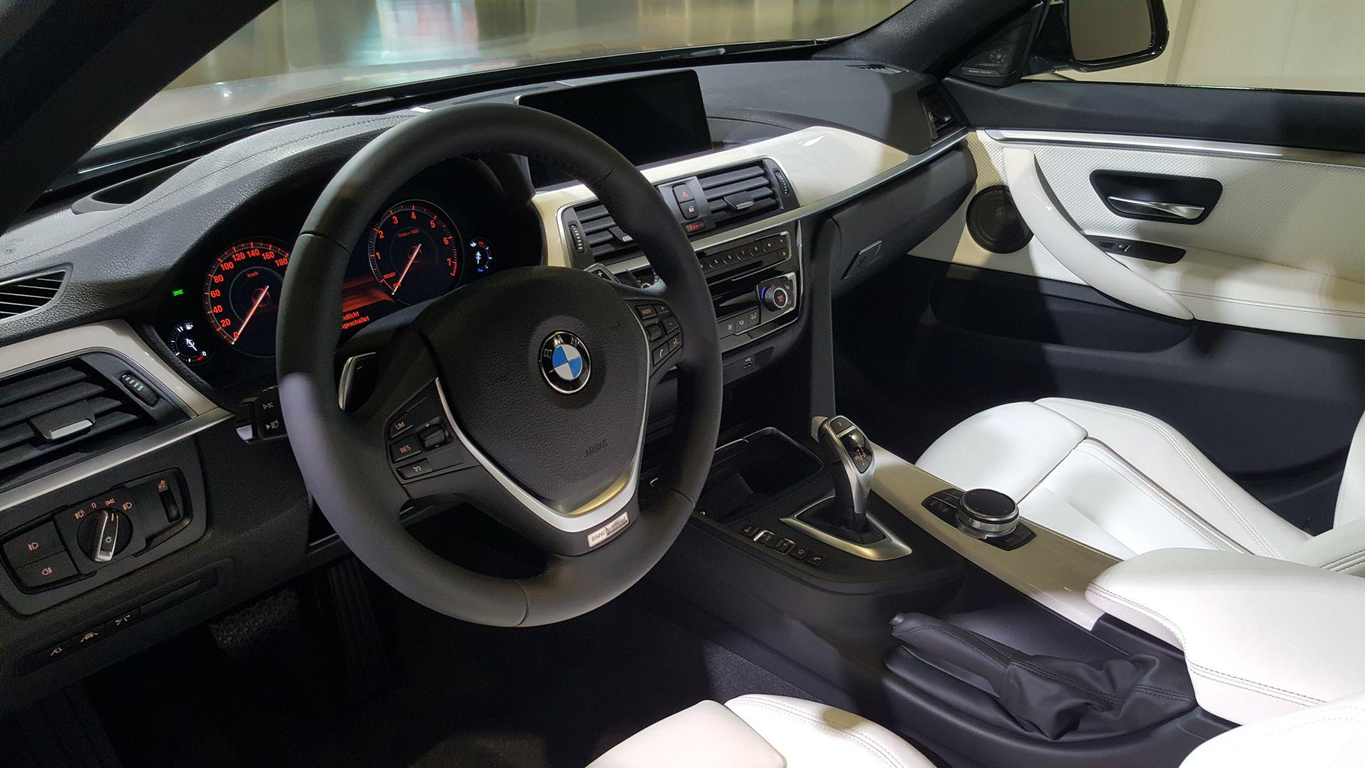 BMW 440i Cockpit