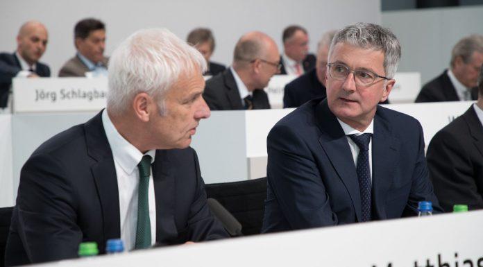 Matthias Müller und Rupert Stadler