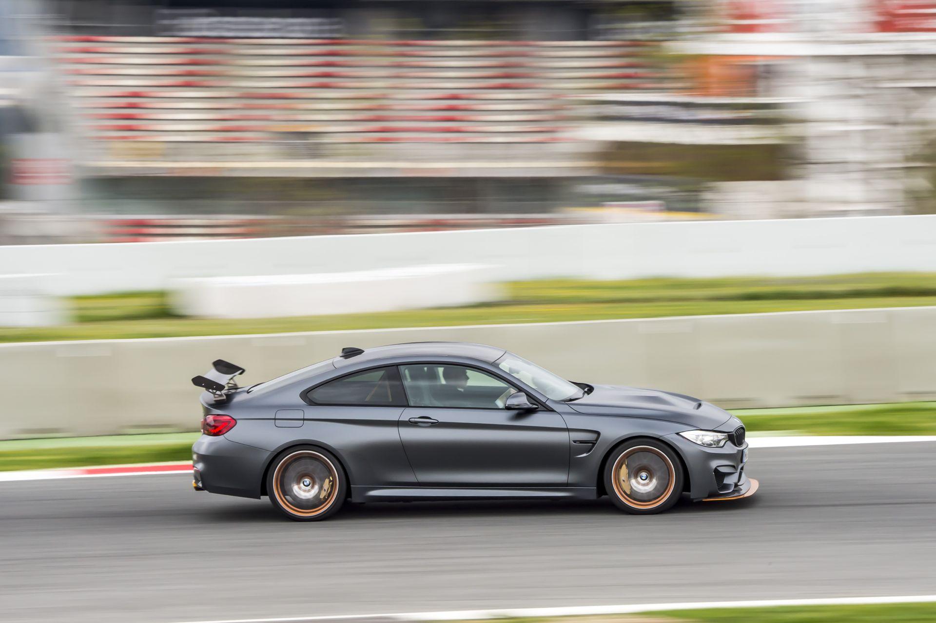 BMW M4 GTS mit Wassereinspritzung