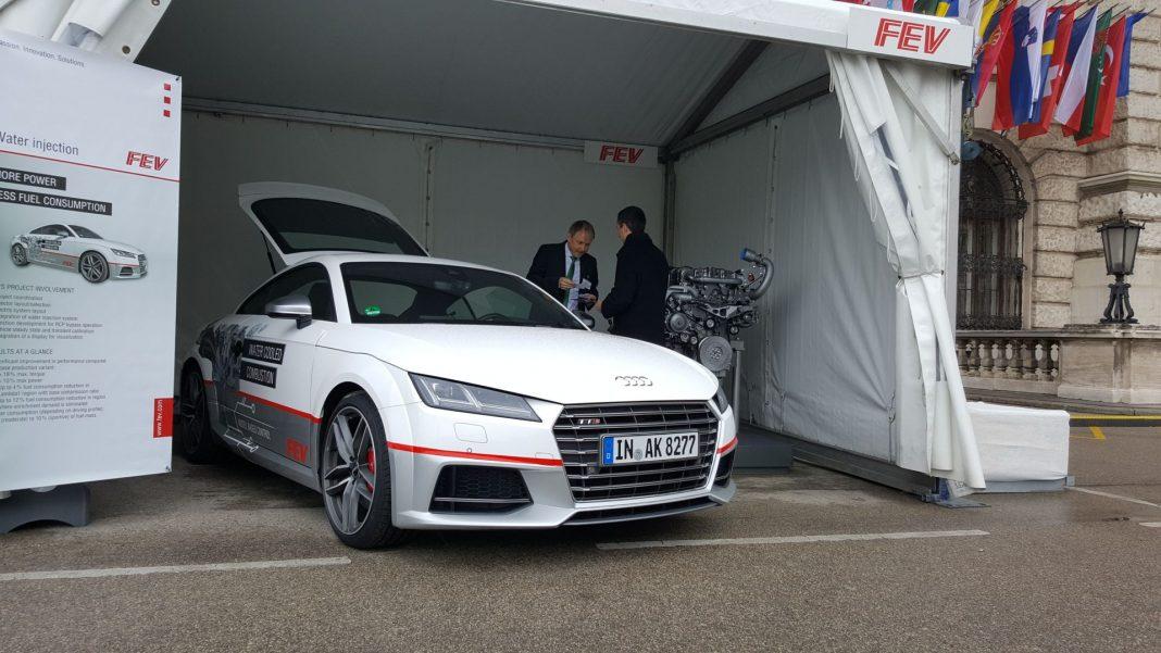 Audi TTS-Prototyp von FEV