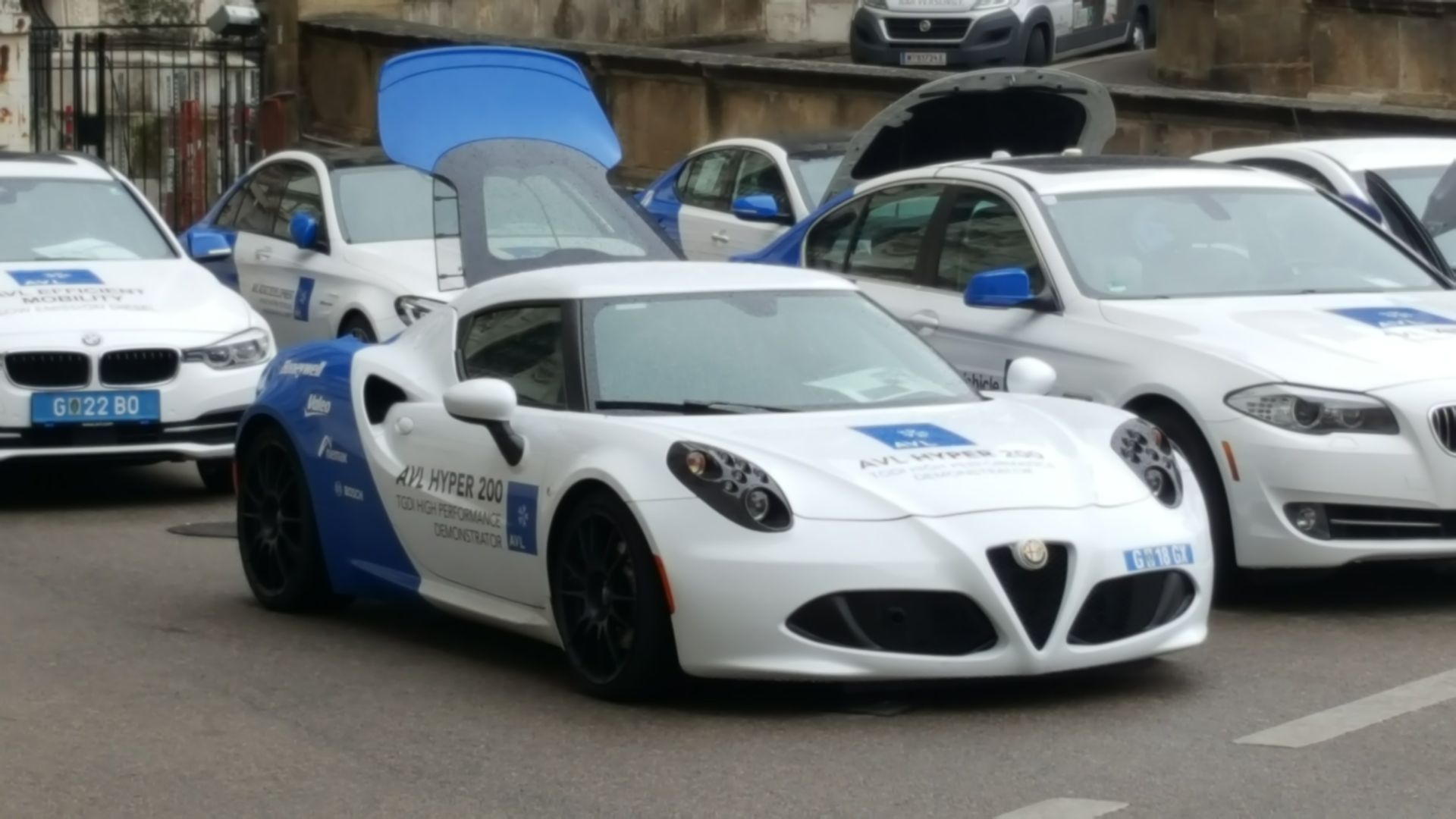 Alfa Romeo 4C-Prototyp von AVL