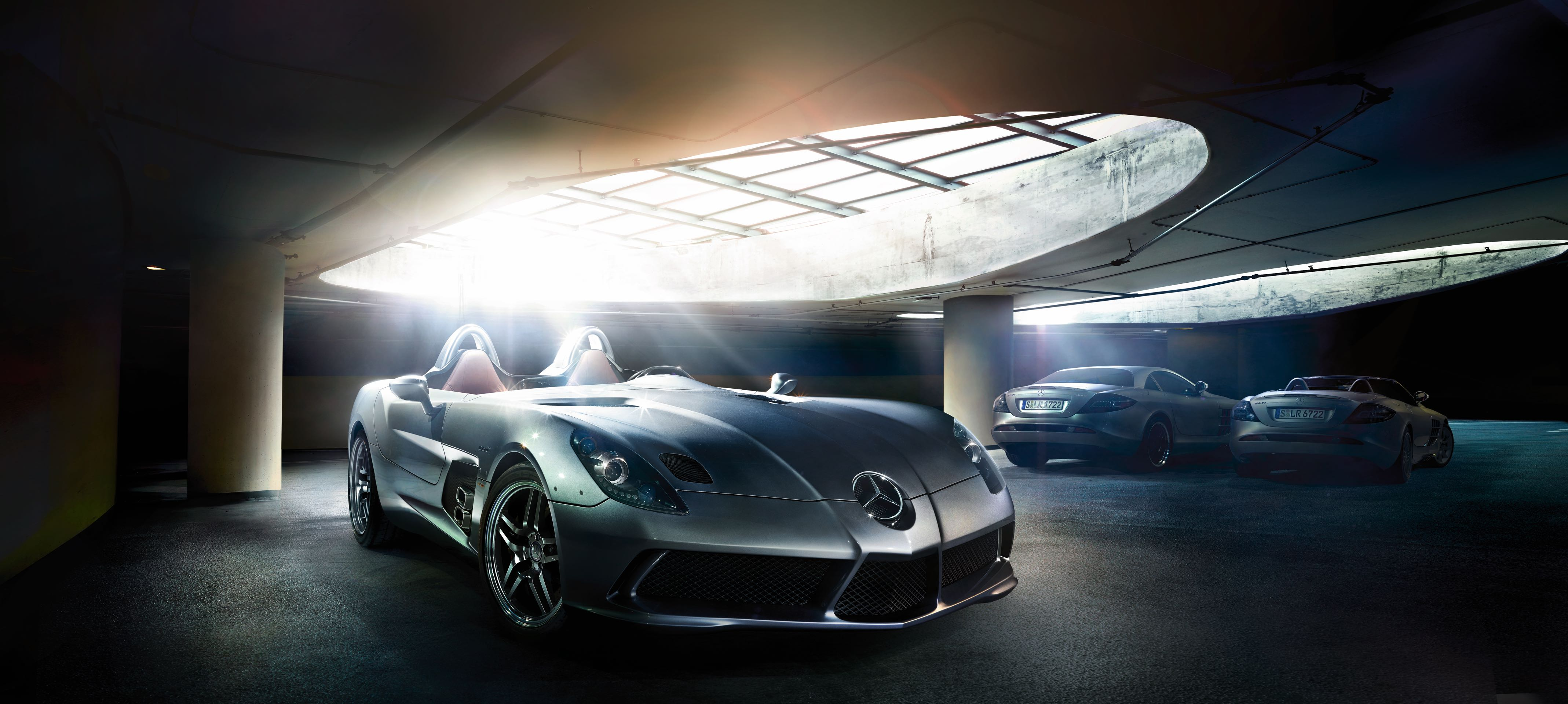 McLaren-Mercedes SLR Stirling Moss