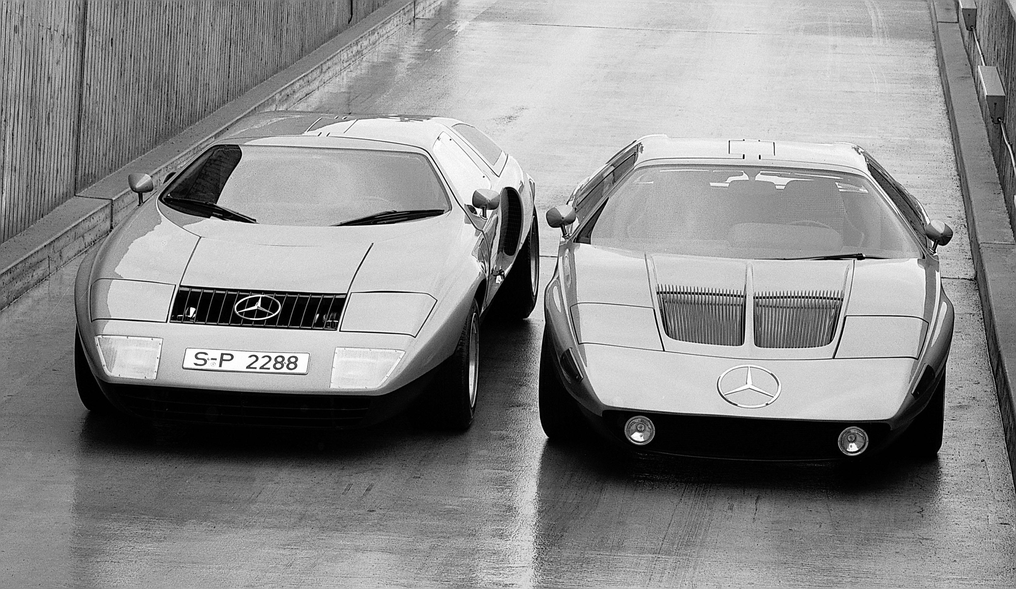 Mercedes-Benz C 111-I und C 111-II