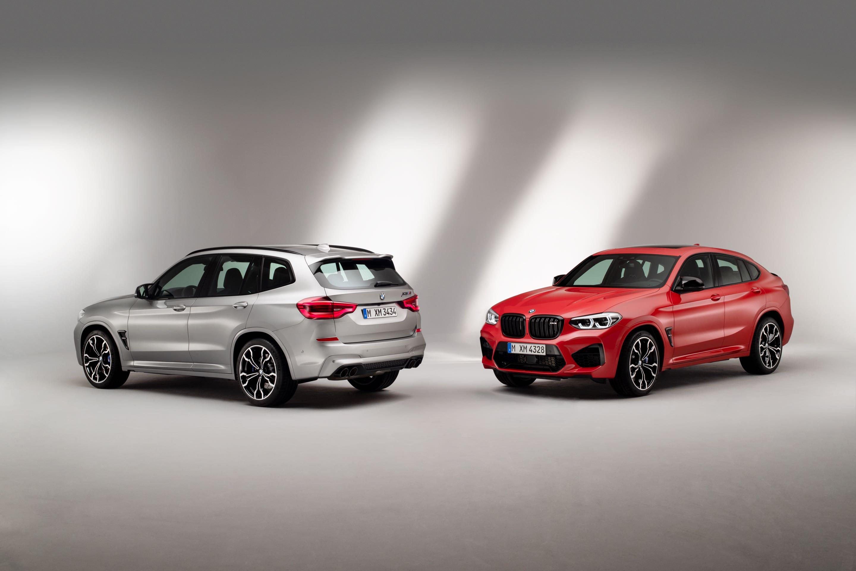 BMW X3 M und X4 M