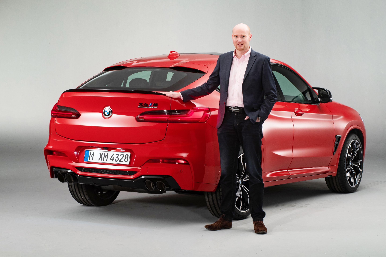 BMW X4 M und Jens Meiners