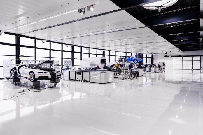 Bugatti Atelier Molsheim