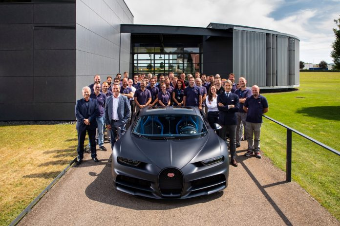 Bugatti Chiron Nr 200