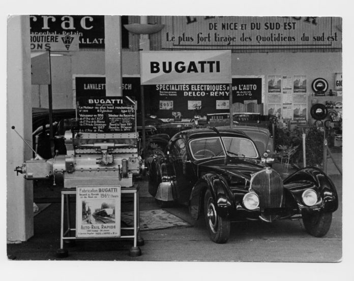 Bugatti Type 57SC Atlantic-Le Voiture Noire