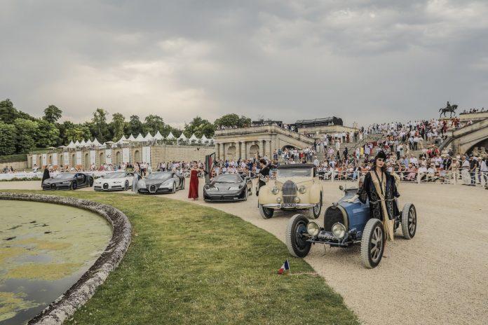 Bugatti in Chantilly
