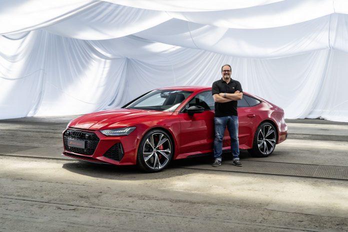 Matthias Knödler und der Audi RS7