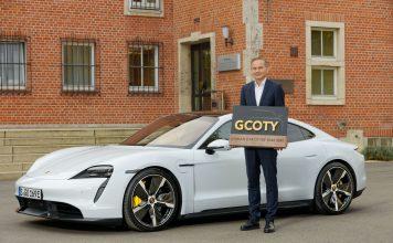 Porsche Taycan und Oliver Blume