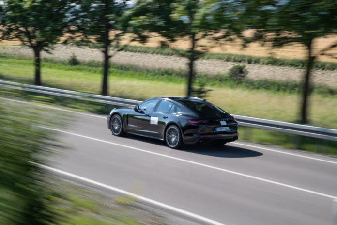 Porsche Panamera Prototyp